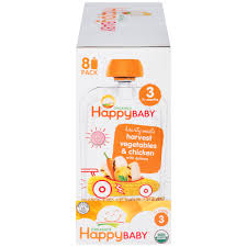(8 Pack) <b>Happy Baby</b> Hearty Meals, Stage 3, Organic Baby Food ...
