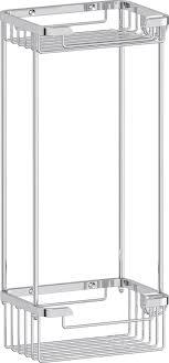 Полка <b>FBS Ryna</b> RYN 017 2-ярусная с крючками купить в ...