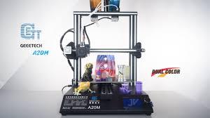<b>Geeetech A20M</b> - Dual Color <b>3D</b> Printer - Unbox & Setup - YouTube