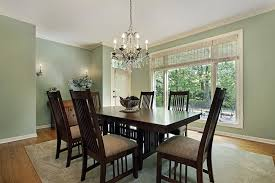 wood kitchen table beautiful: beautiful semi circle dining table  green walls with dark wood dining room furniture