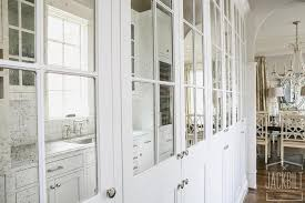 antiqued mirrored pantry cabinets view full size antiqued mirrored doors view full size
