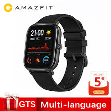 Global Version <b>Amazfit GTS</b> Smart Watch <b>1.65 inch</b> AMOLED 341 ...
