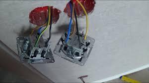 Как подключить перекрёстный <b>выключатель</b> шнайдер, <b>Schneider</b> ...