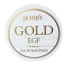 Купить Petitfee Gold <b>EGF</b> Eye Spot Patch <b>Гидрогелевые патчи</b> для ...