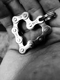 Tig welded heart. Unusual heart, so very different in <b>it's style</b>. Love It ...