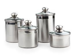 pcs stainless steel metal food storage
