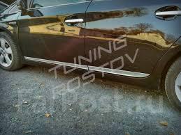 <b>Хромированные молдинги</b> на двери <b>низ</b> Prius 30 кузов ZVW30 ...