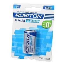 <b>Батарейка Крона Robiton Standard</b> 6LR61 BL1 12288 | Планета ...