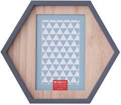 <b>Фоторамка</b> Hofmann 10x15 (А6) 505 <b>дерево</b> шестиугольник, арт ...