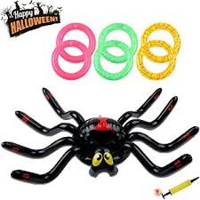 <b>JULY'S SONG Huge</b> Ring Toss Inflate Spider/Bunny/Unicorn Game