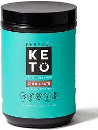 Perfect Keto Collagen Peptides Powder with MCT Oil ... - Amazon.com