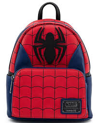 Купить <b>Рюкзак</b> Loungefly: <b>Marvel</b>: <b>Spider</b>-Man Classic Cosplay Mini ...