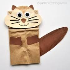 <b>Creative Squirrel</b> Crafts for Kids | Animal crafts for kids, Paper bag ...