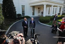 after meeting trump welch optimistic about controlling rep peter welch right and democratic maryland rep elijah cummings meet