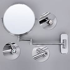 wall mounted swivel mirror
