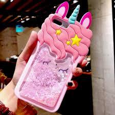 <b>Unicorn</b> 3D Cartoon Pink Quicksand <b>Unicorn</b> Soft Silicone Liquid ...