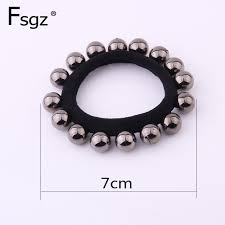 Newest <b>Pearls Gum</b> For <b>Hair</b> High Elastic Rubber Bands For Women ...
