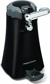 Morphy Richards <b>Multifunction Can Opener</b> 46718 Black Tin Opener ...
