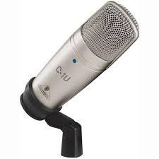 <b>Микрофон BEHRINGER C-1U</b>, серебристый — купить в интернет ...