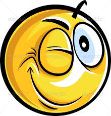 Image result for pictures of winking smiley