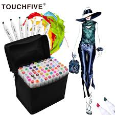 <b>Touchfive 30/40/60/80</b>/168Colors Pen Markers Set Dual Head ...