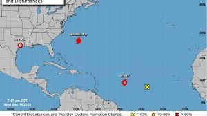 Tropical Storm Jerry, Hurricane Humberto forecast for NC, SC ...