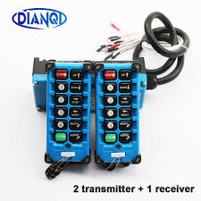 2 transmitters + 1 receiver <b>industrial remote controller switches</b> 10 ...