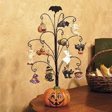 Amazon.com - <b>Halloween Pumpkin Tree</b> with Ornaments ...