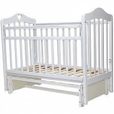 Каталог <b>Кроватка детская Топотушки</b> Оливия 5 с сердечком ...