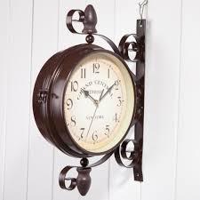 <b>Iron Art</b> And Home <b>Garden</b> Decoration, Clocks, Double Wall Clock ...