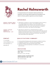 inspirational medical resume examples resume examples  examples of medical resumes