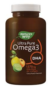 <b>Ultra Pure Omega3</b> DHA, Citrus Punch - Nature's Way®.