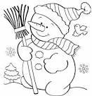 Раскраска дед мороз снегурочка снеговик