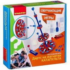 <b>Игра</b> настольная <b>Дартс</b> на магнитах <b>Bondibon</b>, цвет , артикул ...