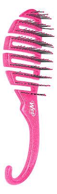 <b>Щетка для душа</b> Shower Detangler Pink Glitter Wet <b>Brush</b> — купить ...