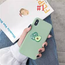 GFAITH Casing OPPO A3S Cover <b>Avocado</b> cartoon patternSoft ...