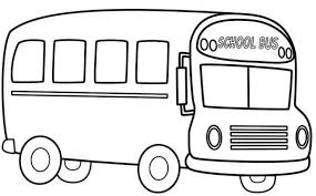 Small Picture Stunning School Bus Coloring Sheet Pictures New Printable
