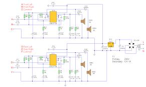 quadraphonic amplifier quad circuit