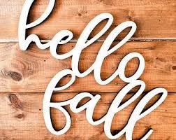 <b>Hello fall</b> sign | Etsy