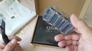 Станок для бритья Qshave в подарочной упаковке / Machine for ...