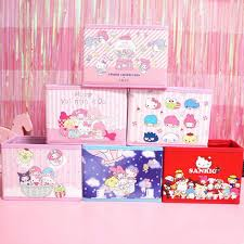 <b>1Pc</b> new Sanrio Series big Family Desktop Receiving <b>Box</b> Organizer ...