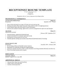 cv for beautician objective for a salon receptionist resume receptionist resume sample resume examples medical receptionist objective for a salon receptionist resume objective for veterinary