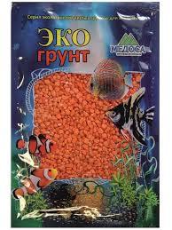 <b>Цветная мраморная крошка Эко</b> грунт 2 5mm 7kg Orange 7 1045 ...