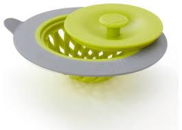<b>Sinksationational Sink Strainer</b>, Green/Slate - Contemporary ...