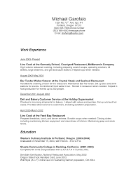 bar manager resume sample for job and resume template bartender waiter resume examples 2016 work experience