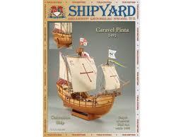 <b>Сборная картонная модель Shipyard</b> каравелла Pinta (№64 ...