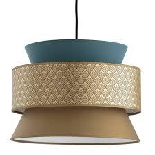 <b>Светильник</b> с 3 абажурами, dolkie синий/ золотистый <b>La Redoute</b> ...