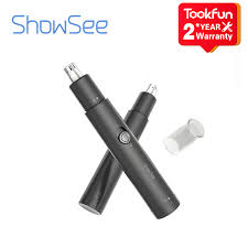 <b>SHOWSEE Electric Mini</b> Nose trimmers Portable Ear Nose Hair ...