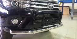 <b>Защита передняя нижняя</b> для Тойота Хайлюкс 2015, 2016, 2017 ...