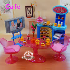 aliexpresscom buy new girl birthday gift plastic play set furniture living room chairs doll house furniture doll accessories for barbie doll 16 from barbie doll house furniture sets